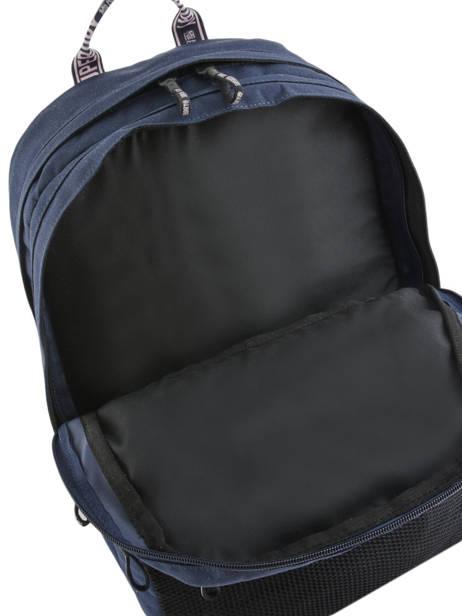 Sac à Dos 2 Compartiments Superdry Bleu backpack woomen W9100005 vue secondaire 5