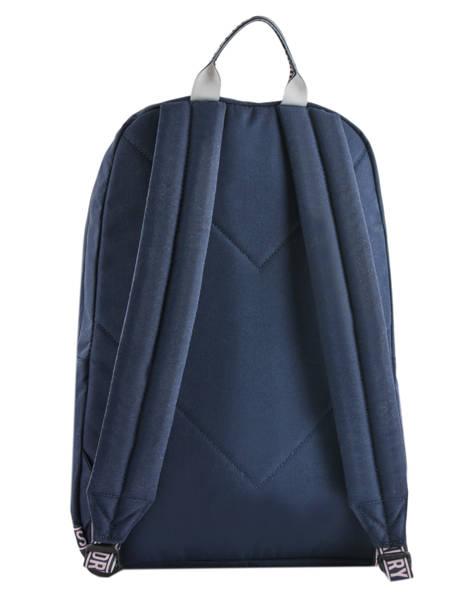 Sac à Dos 2 Compartiments Superdry Bleu backpack woomen W9100005 vue secondaire 4