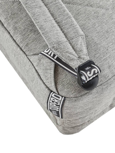 Sac à Dos 2 Compartiments Superdry Gris backpack woomen W9100005 vue secondaire 2