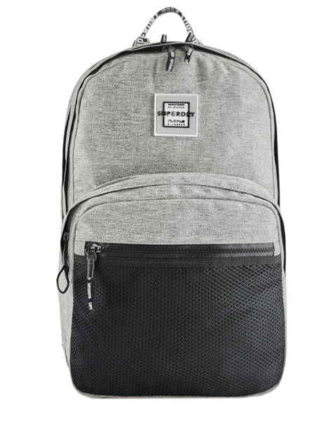 Sac à Dos 2 Compartiments Superdry Gris backpack woomen W9100005