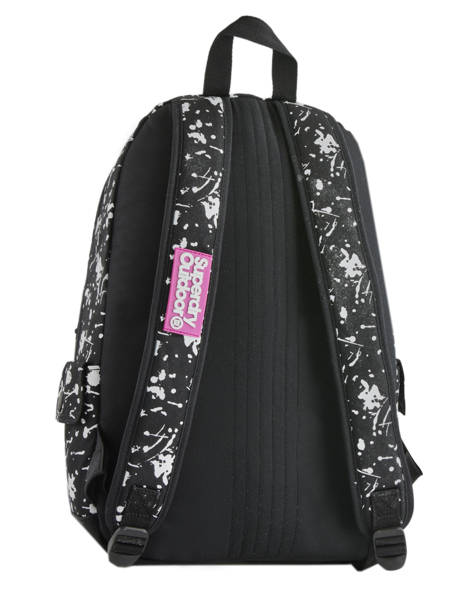 Sac à Dos 1 Compartiment Superdry Noir backpack woomen W9100014 vue secondaire 4