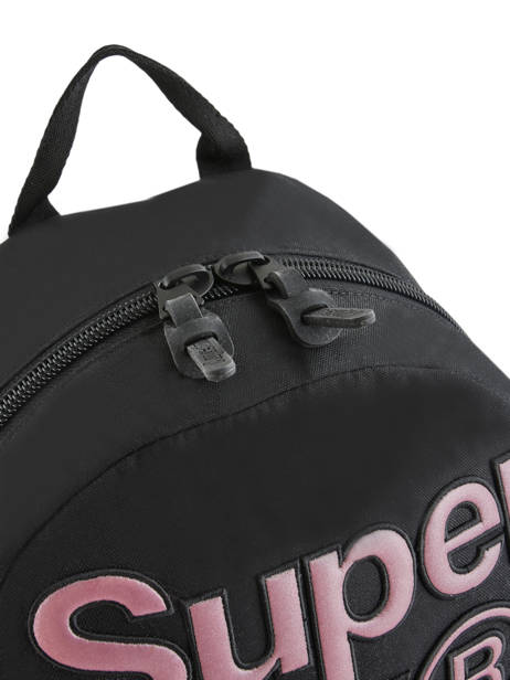 Sac à Dos 1 Compartiment Superdry Violet backpack woomen W9100015 vue secondaire 2