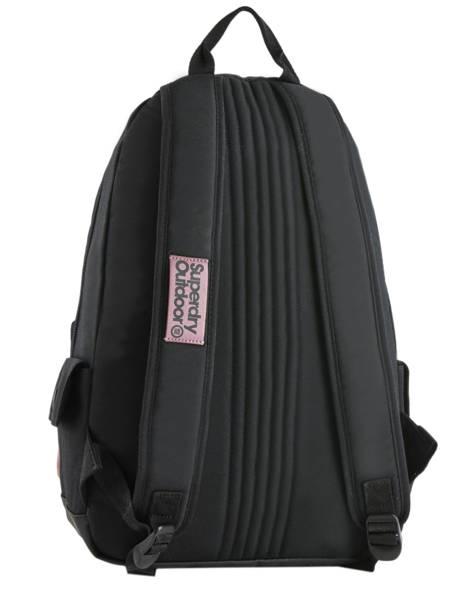 Sac à Dos 1 Compartiment Superdry Violet backpack woomen W9100015 vue secondaire 4