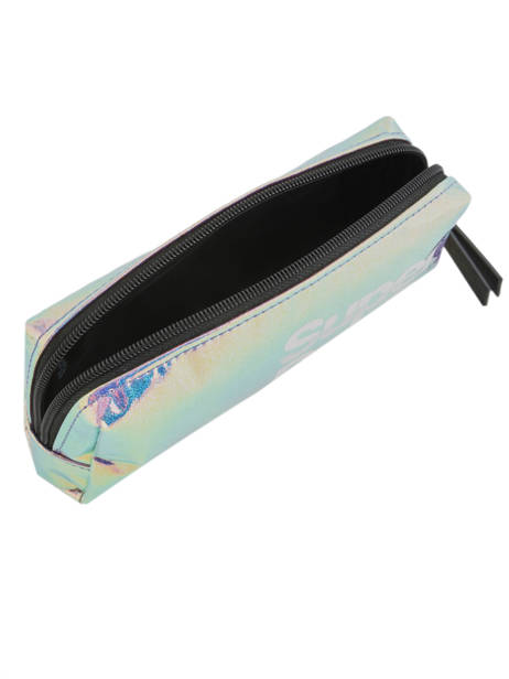 Trousse 1 Compartiment Superdry Bleu accessories woomen W9800001 vue secondaire 3