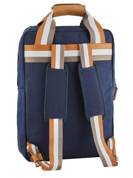 Sac à Dos Urban Bag Cotton Faguo Bleu cotton 19LU0149 vue secondaire 4
