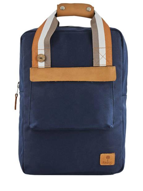 Sac à Dos Urban Bag Cotton Faguo Bleu cotton 19LU0149