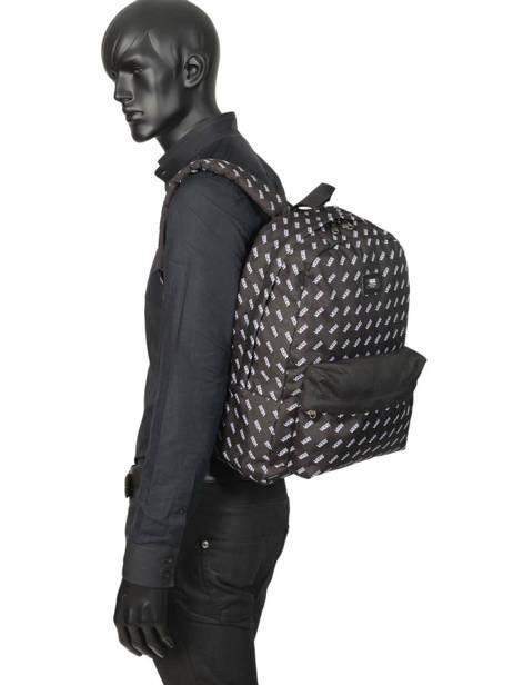 Rugzak 1 Compartiment + Pc 15'' Vans Zwart backpack men VN0A3I6R ander zicht 2