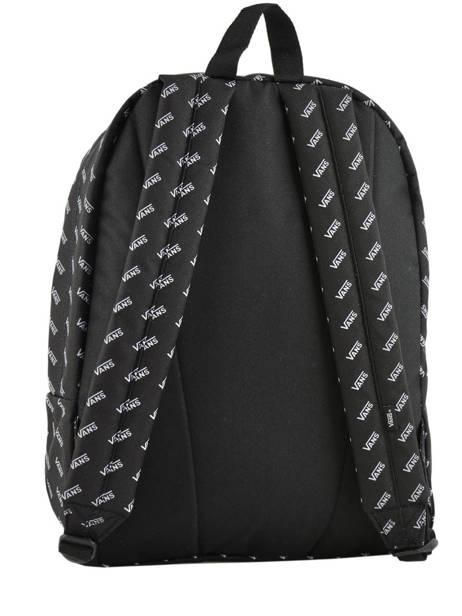 Rugzak 1 Compartiment + Pc 15'' Vans Zwart backpack men VN0A3I6R ander zicht 3