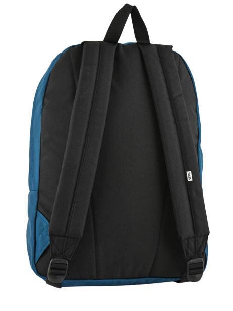 Sac à Dos 1 Compartiment + Pc 15'' Vans Noir backpack men VN0A3UI6 vue secondaire 3