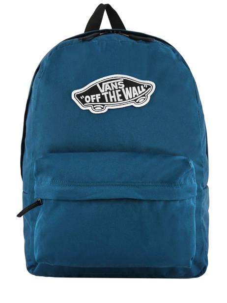 Sac à Dos 1 Compartiment + Pc 15'' Vans Noir backpack men VN0A3UI6