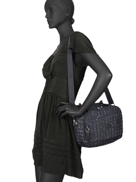 Beauty Case Soepel Kipling Zwart basic travel 13860 ander zicht 1