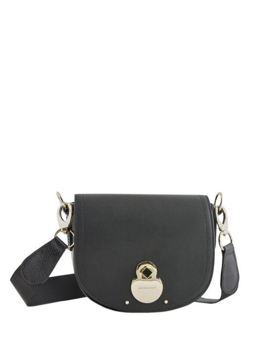Longchamp Cavalcade Sac porté travers Noir
