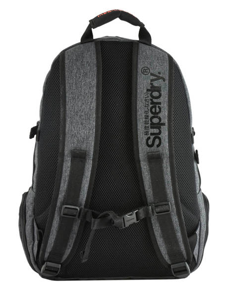Sac à Dos 2 Compartiments + Pc 15'' Superdry Gris backpack men M9100010 vue secondaire 3