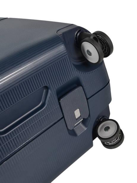 Harde Reiskoffer Magnum Samsonite Blauw magnum CK6002 ander zicht 3