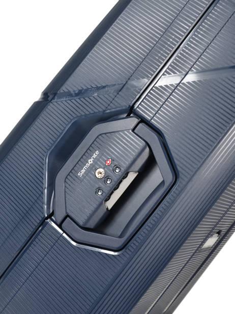 Harde Reiskoffer Magnum Samsonite Blauw magnum CK6002 ander zicht 1