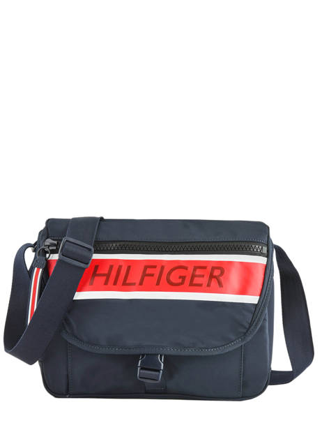Messengertas Th Essentiel Tommy hilfiger Blauw essentiel AM05221