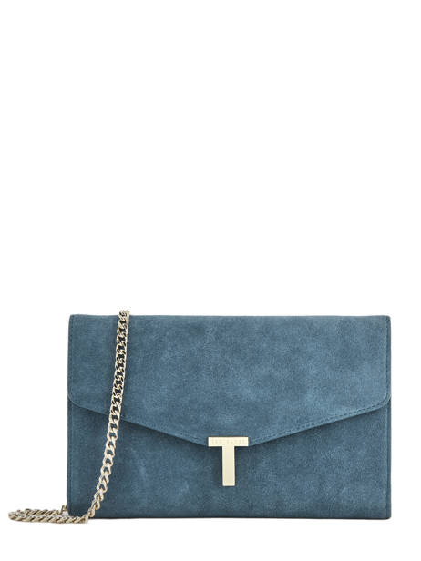 Avondtas Jakiee Leder Ted baker Blauw fashion leather JAKIEE