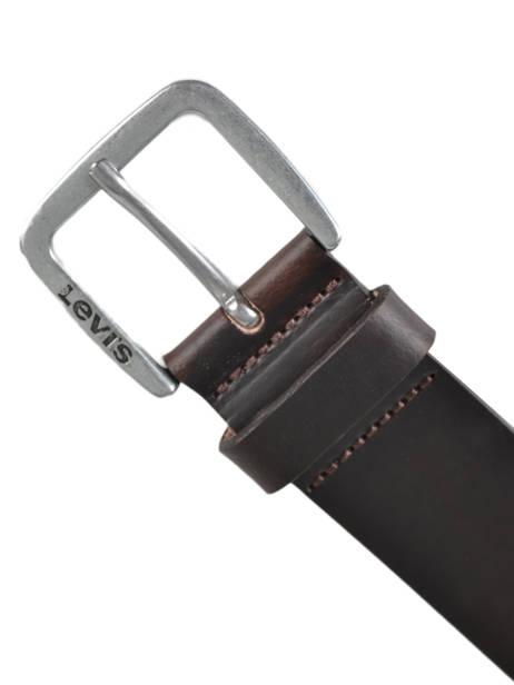 Herenriem Leder Levi's Bruin accessoires 230850 ander zicht 2