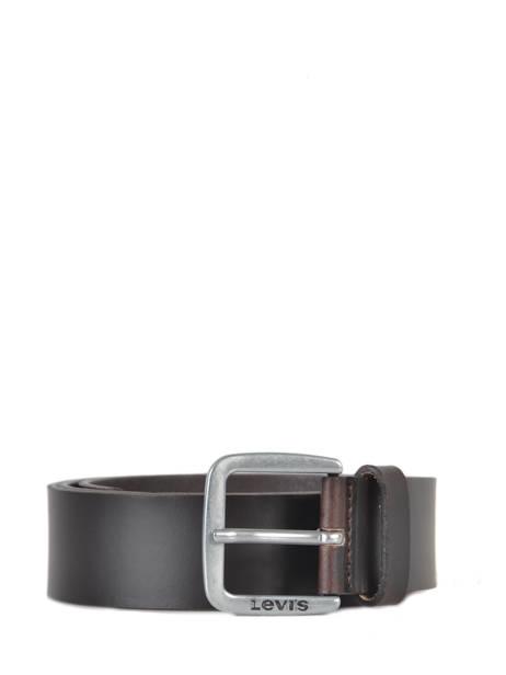 Herenriem Leder Levi's Bruin accessoires 230850