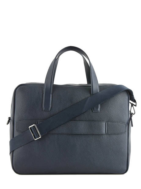 Porte-documents 1 Compartiment + Pc 15'' Tommy hilfiger Bleu downtown AM05456 vue secondaire 3