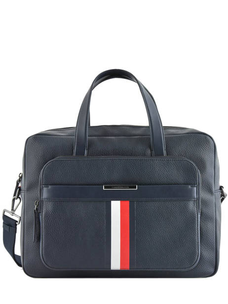 Porte-documents 1 Compartiment + Pc 15'' Tommy hilfiger Bleu downtown AM05456