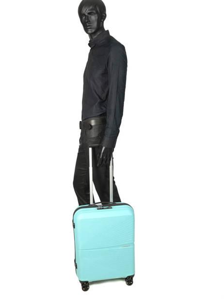 Handbagage Airconic American tourister Zwart airconic 88G001 ander zicht 3