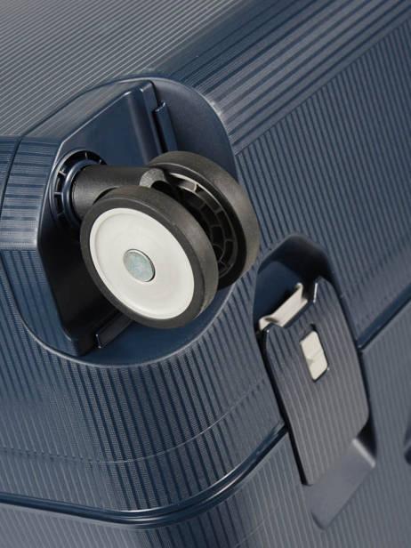 Valise Rigide Magnum Samsonite Bleu magnum CK6003 vue secondaire 2