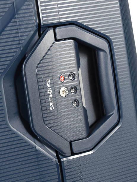 Harde Reiskoffer Magnum Samsonite Blauw magnum CK6003 ander zicht 1