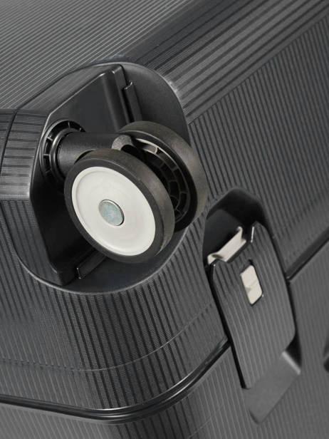 Harde Reiskoffer Magnum Samsonite Zwart magnum CK6002 ander zicht 2