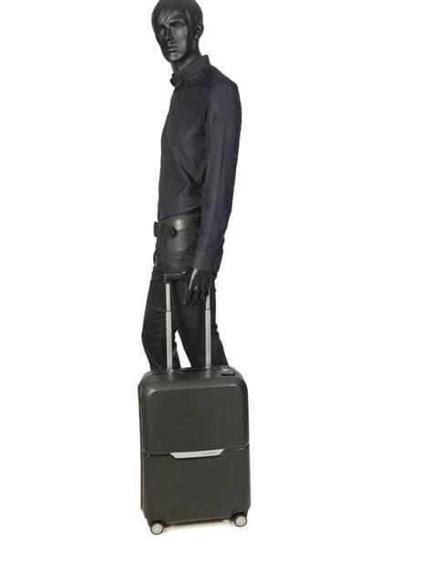 Handbagage Samsonite Zwart magnum CK6001 ander zicht 2