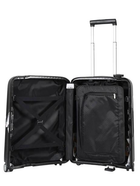 Handbagage Samsonite Zwart magnum CK6001 ander zicht 4