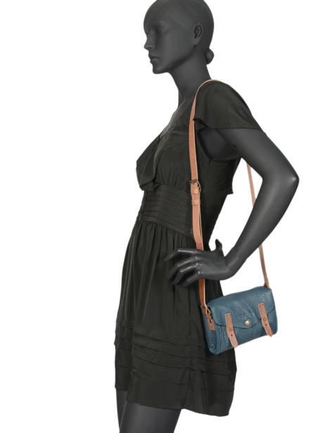 Cross Body Tas Mini Indispensable Leder Paul marius Zwart vintage MINI ander zicht 2