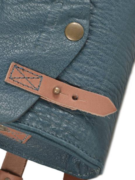 Cross Body Tas Mini Indispensable Leder Paul marius Zwart vintage MINI ander zicht 1