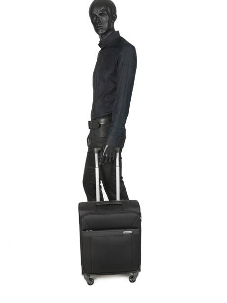 Handbagage Aruro Samsonite Zwart aruro CT0901 ander zicht 3