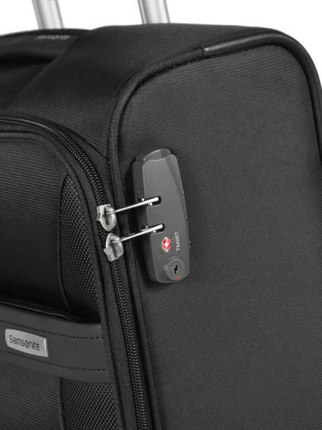 Handbagage Aruro Samsonite Zwart aruro CT0901 ander zicht 2