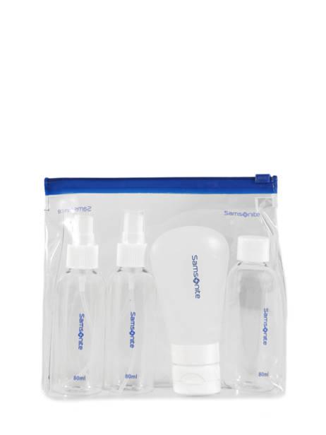 Travel Set Flacons Voor Handbagage Samsonite Zwart accessoires C01064 ander zicht 1