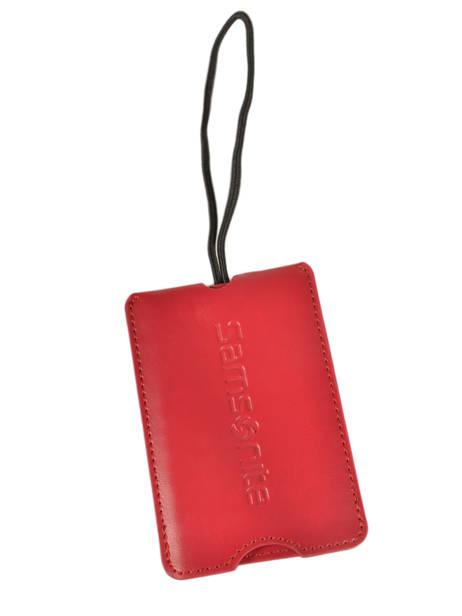 Adreslabel Samsonite Rood accessoires C01102