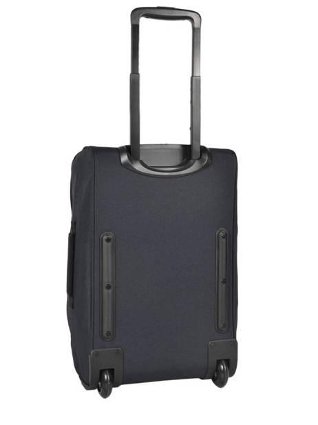 Valise Cabine Eastpak Bleu authentic luggage K36D vue secondaire 4