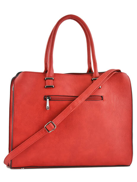 Sac Shopping Format A4 Gallantry Rouge format a4 M9216 vue secondaire 2