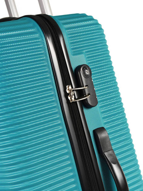 Valise Rigide Madrid Travel Bleu madrid IG1701-L vue secondaire 1