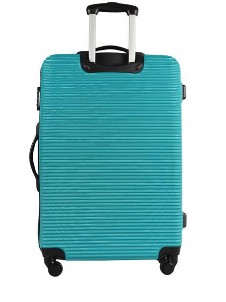 Valise Rigide Madrid Travel Bleu madrid IG1701-L vue secondaire 4