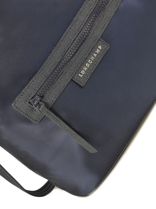 Longchamp Le pliage neo Sac porté travers Bleu