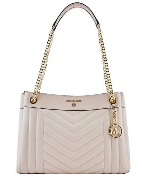 Sac Shopping Susan Cuir Michael kors Rose susan H9GUSL2T