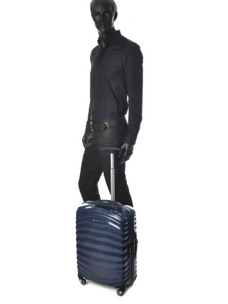 Handbagage Lite-shock Samsonite Blauw lite-shock 98V901 ander zicht 3