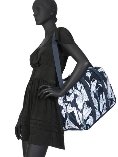 Compacte Reistas Feel Happy Roxy Zwart luggage RJBP4071 ander zicht 2