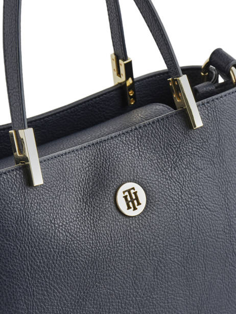 Handtas Th Core Tommy hilfiger Blauw th core AW07685 ander zicht 1