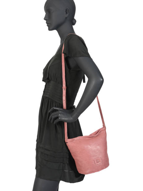 Bucket Bag Chester Leder Biba Roze chester CHE1L ander zicht 2