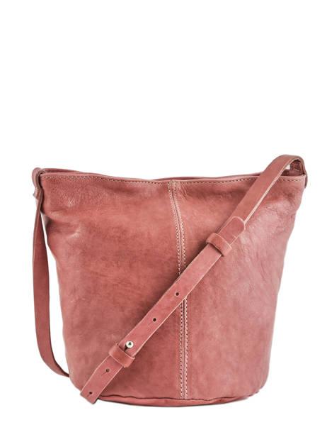 Bucket Bag Chester Leder Biba Roze chester CHE1L ander zicht 3