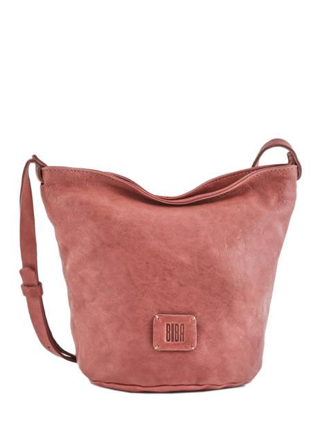 Bucket Bag Chester Leder Biba Roze chester CHE1L