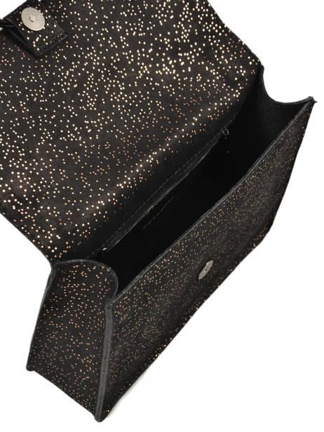 Cross Body Tas Velvet Milano Zwart velvet VP180602 ander zicht 4